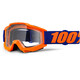100% Accuri - Gafas enduro - Anti Fog Clear Lens / naranja